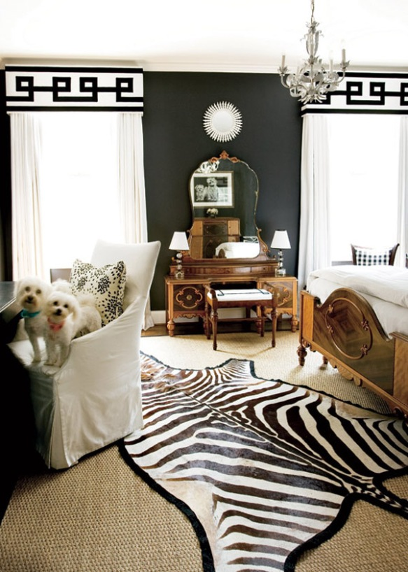 glamourous Black Walls